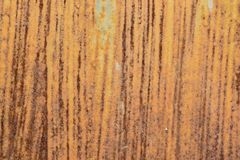 Roest op staal Stock Afbeelding