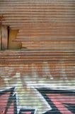 Roestig blind Stock Afbeelding