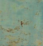 Roestig geschilderd metaal stock foto