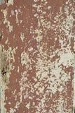 Roestig geschilderd metaal Stock Foto's