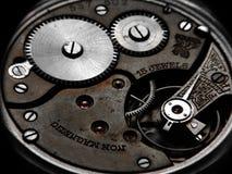 Roestig horloge Stock Foto's