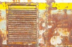 Roestig metaalblad Stock Foto