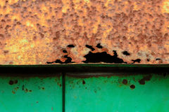 Roestig metaalblad Stock Fotografie