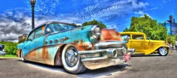 Roestig oud Buick Royalty-vrije Stock Foto