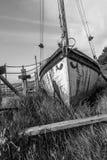 Roestig schip Royalty-vrije Stock Foto's