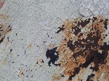 Roestig textuur/als achtergrond ijzer Royalty-vrije Stock Foto's