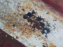 Roestig textuur/als achtergrond ijzer Stock Afbeelding