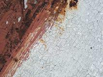 Roestig textuur/als achtergrond ijzer Royalty-vrije Stock Afbeeldingen