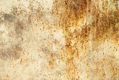 Roestige abstraktachtergrond Stock Afbeelding