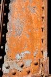 Roestige Balk Royalty-vrije Stock Foto