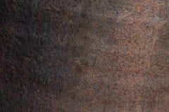 Roestige bladen van metaal met schurende verf royalty-vrije stock foto's