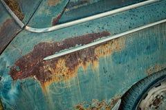 Roestige carrosserie stock foto