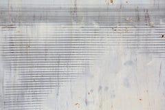 Roestige de muurtextuur van het metaalblad voor achtergrond Royalty-vrije Stock Afbeelding