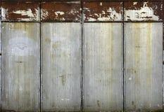 Roestige deuren Royalty-vrije Stock Afbeeldingen