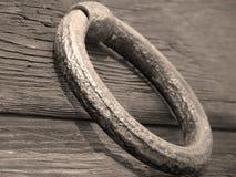 Roestige deurknop Royalty-vrije Stock Afbeelding