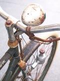 Roestige fiets Royalty-vrije Stock Afbeeldingen