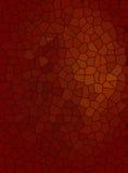 Roestige het gebrandschilderde glastextuur van de ijzerkleur Stock Illustratie