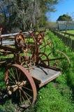 Roestige landbouwbedrijfapparatuur Royalty-vrije Stock Afbeeldingen