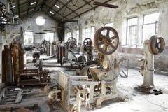 Roestige Machines stock foto's