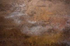 Roestige metaal aangetaste textuurachtergrond Royalty-vrije Stock Afbeeldingen