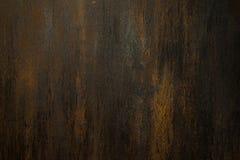 Roestige metaal aangetaste textuurachtergrond Stock Afbeelding