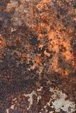 Roestige metaalachtergrond Stock Foto