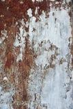 Roestige metaalachtergrond Stock Afbeelding