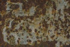 Roestige metaaldelen Stock Foto