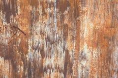 Roestige metaaloppervlakte Stock Fotografie