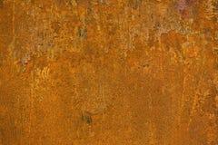 Roestige metaaloppervlakte Royalty-vrije Stock Fotografie