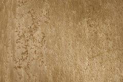Roestige metaaltextuur lichtbruine gouden Inca-achtergrond, voor 3D te Royalty-vrije Stock Fotografie