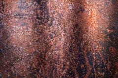 Roestige metaaltextuur, roestige metaalachtergrond voor ontwerp Royalty-vrije Stock Afbeeldingen