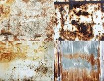 Roestige muren Stock Fotografie