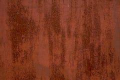 Roestige omheiningsmuur met scheidingstextuur vage vlekken royalty-vrije stock foto