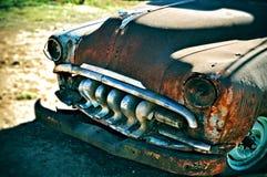Roestige oude auto Royalty-vrije Stock Foto