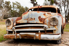 Roestige oude auto Royalty-vrije Stock Fotografie