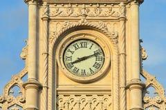 Roestige oude klok Royalty-vrije Stock Afbeeldingen