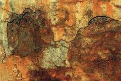 Roestige oude muur Royalty-vrije Stock Afbeelding