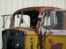 Roestige oude vrachtwagencabine Royalty-vrije Stock Afbeelding