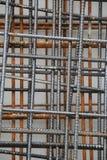Roestige staalstaven Stock Afbeeldingen
