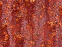 Roestige textuur Royalty-vrije Stock Afbeeldingen