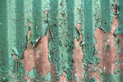 Roestige textuur met grungeverf Royalty-vrije Stock Foto's