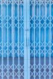 Roestige traditionele poort of het vouwen van deuren Stock Afbeelding