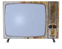 Roestige TV Royalty-vrije Stock Foto