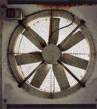 Roestige ventilator Stock Foto