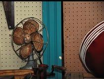 Roestige ventilator Stock Afbeelding