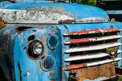 Roestige Vrachtwagen Stock Foto