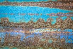 Roestige zinktextuur - royalty-vrije stock afbeelding