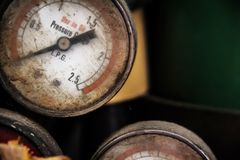 Roestmeter Stock Foto's