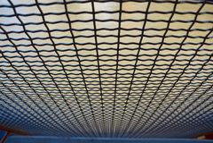 Roestvrij staal balustrading netwerk Royalty-vrije Stock Foto's